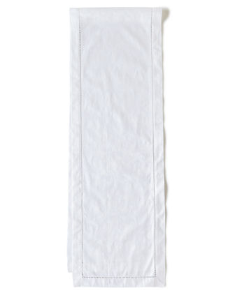 "Plume Jacquard 108""L Table Runner"
