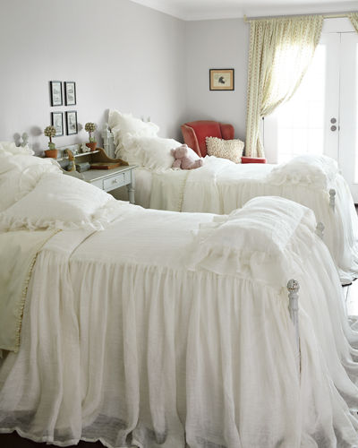 bedspreads pine shams cone bedding throws hill bed candlewick