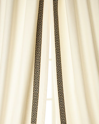 "Each 48""W x 108""L Folly Curtain - Left"