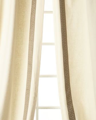 Eastern Accents Folly Curtain, Right Panel, 48