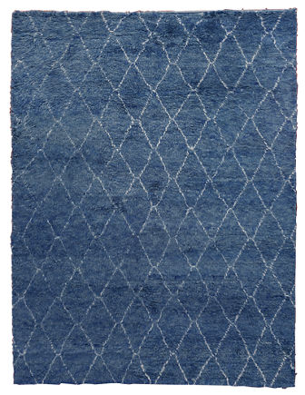 Nonali Hand-Knotted Rug, 5' x 8'