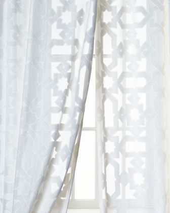 Dian Austin Couture Home Urban Cut Curtain, 96