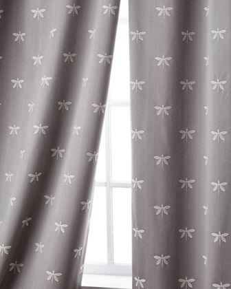 "Imperial Dragonfly Curtain, 96""L"