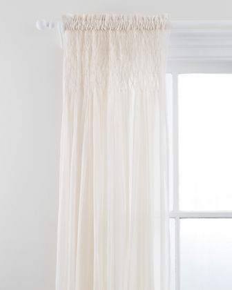 Pine Cone Hill Heirloom Voile Curtain Panel 96