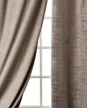 Dian Austin Couture Home Manhattan Velvet Curtain, 108