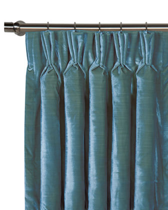 Winchester Pinch Pleat Curtain Panel  108L