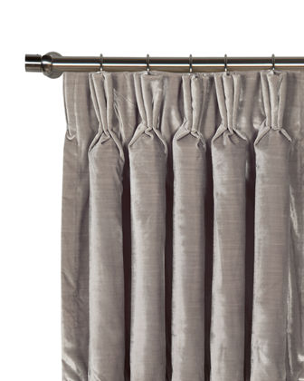 "Winchester Pinch Pleat Curtain Panel, 96""L"
