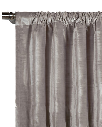 "Winchester Rod Curtain Panel, 108""L"