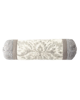 Vanessa Patched Neck Roll Pillow