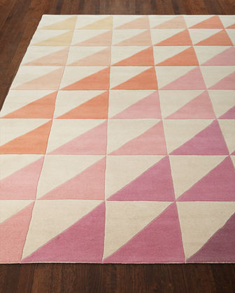 "Fun Tiles Hand-Tufted Rug, 3'6"" x 5'6"""