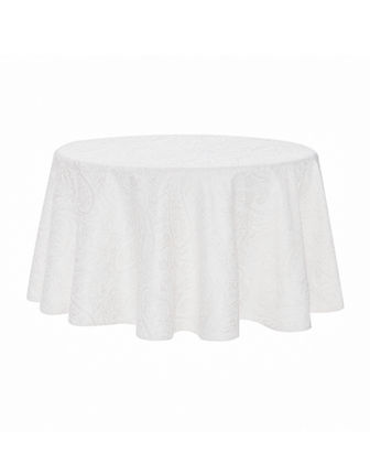 "Esmerelda Round Tablecloth, 70""Dia."