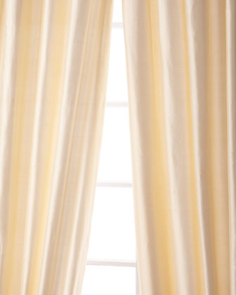 "Palace Silk Curtain, 108""L"