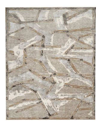 Christopher Guy Chemin Misted Morning Hand-Knotted Rug, 10'