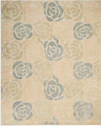 Christopher Guy Fleurs Hand-Knotted Rug, 10' x 14'