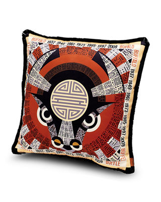 "Oroscopo Pillow, 16""Sq."