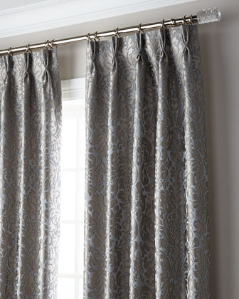 Bellantine 3-Fold Pinch Pleat Blackout Curtain Panel, 108""