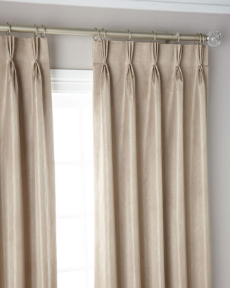 3-Fold Pinch Pleat Shimmer Curtain Panel  96