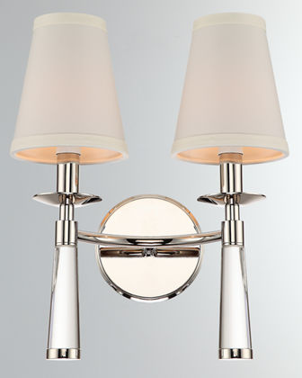 Baxter 2-Light Oil Sconce