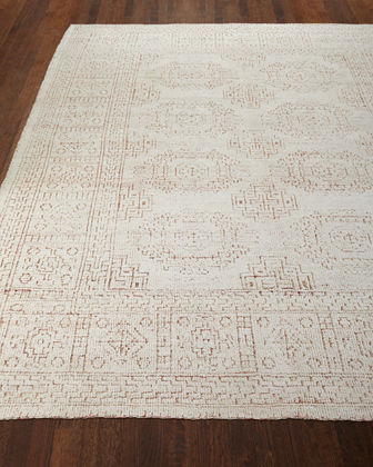 Luna Hand-Knotted Rug  4' x 6'