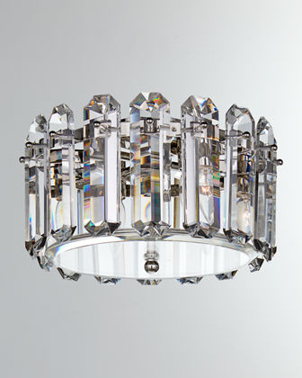 The Visual Comfort Yvette is a transitional table lamp sure to complement any bedroom or living room.Medium Flush Mount