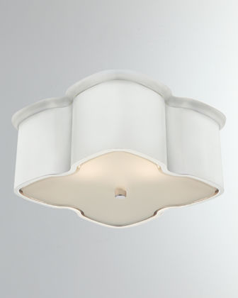 AERIN Bolsena Clover Flush Mount Light