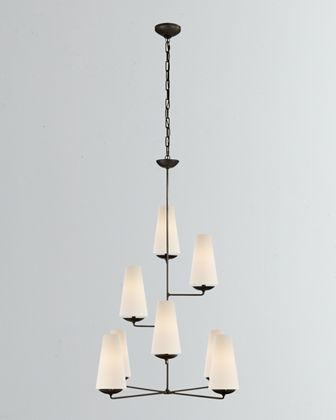 Fontaine Vertical 8-Light Chandelier