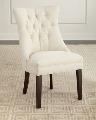 Ana Tufted English Arm Chair