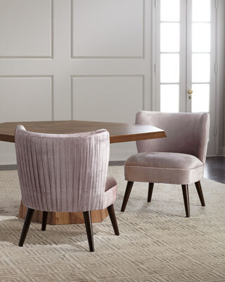 Gibson Pleated-Back Dining Chair
