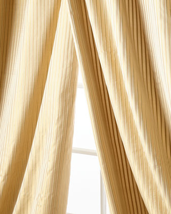 "Silenzio Curtain Panel, 108""L"