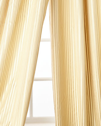"Silenzio Curtain Panel, 96""L"