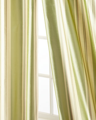 Home Silks Ferris Curtain Panel, 108