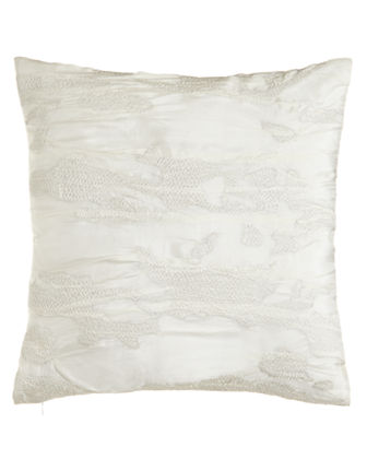 Reflection Embroidered Pillow, 18