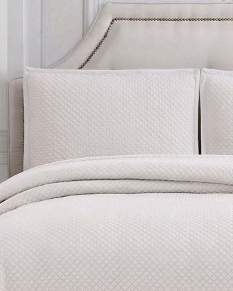 Garment-Washed King Coverlet