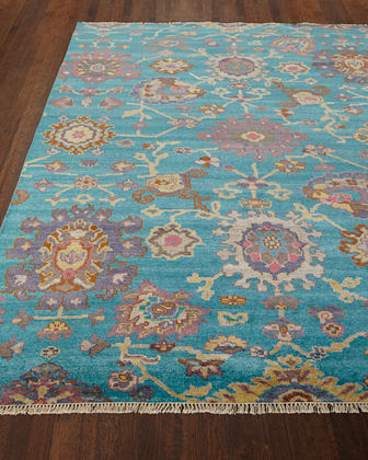 Blakely Hand Knotted Rug, 6' x 9'