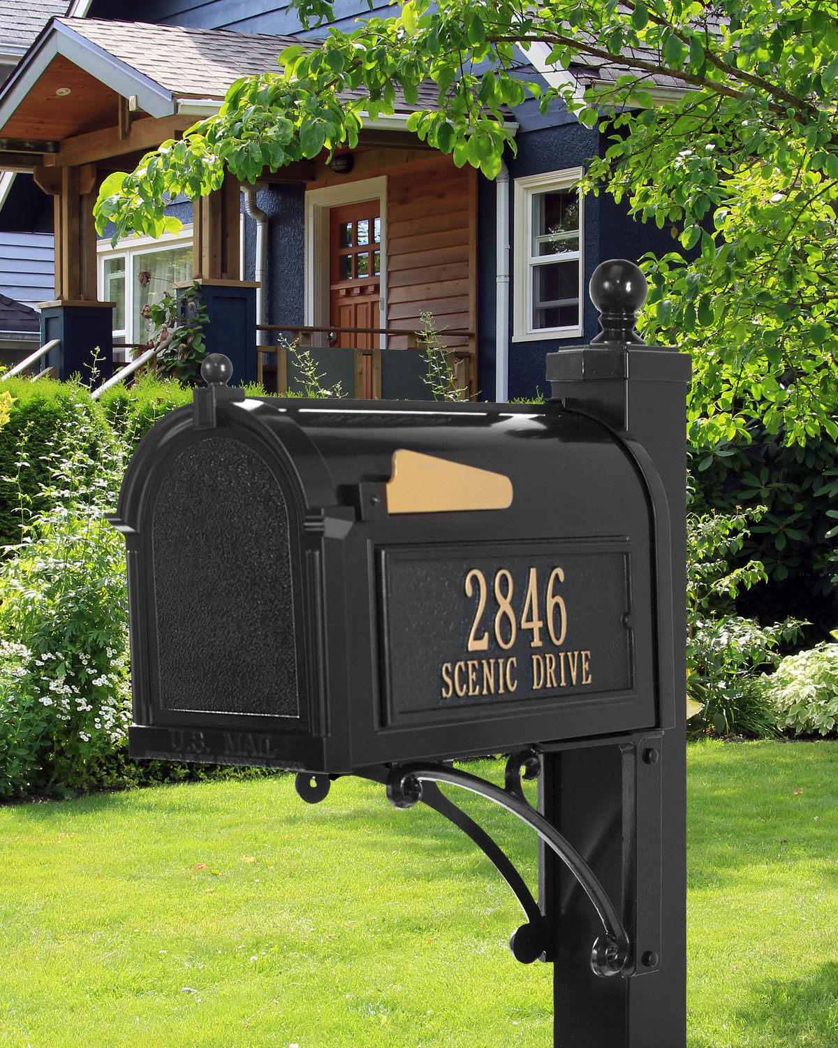 Deluxe Capitol Mailbox Package