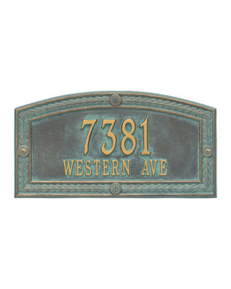 Personalized Hamilton Plaque