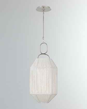 Kelly Wearstler Forza Small Gathered Lantern