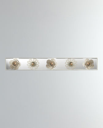 Keaton 30 Floral Vanity Light