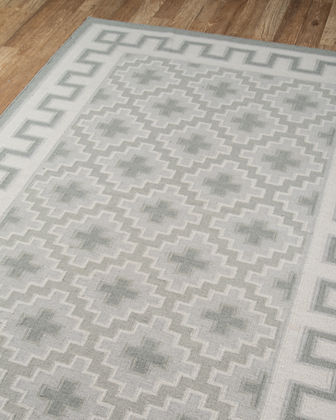 Shannon Hand-Woven Rug, 5' x 7.6'