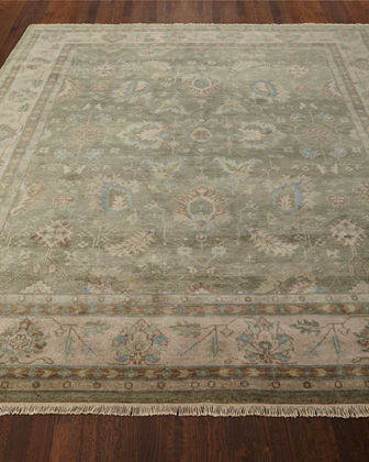 Peterson Hand-Knotted Rug, 5' x 8'