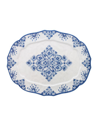 XL Melamine Oval Tray