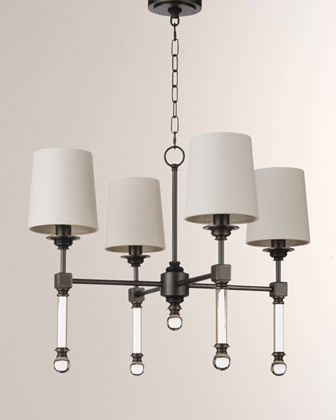 Small Crystal Tail Chandelier