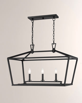Townsend 3-Light Linear Chandelier