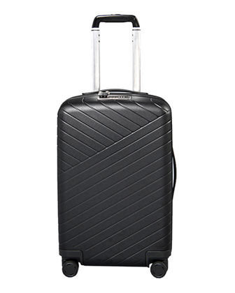 Expandable 22 Carry-On Spinner Luggage w/ Removable Battery