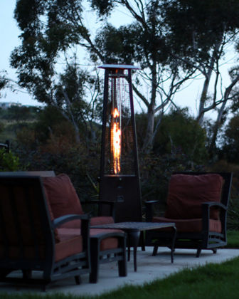 Prism Patio Heater with Remote