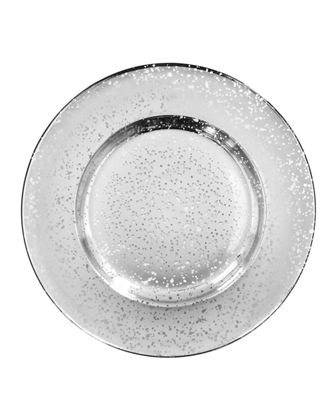 Speckled Charger Plate