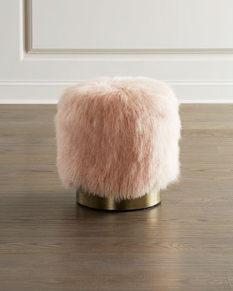 Doutzen Sheepskin Stool