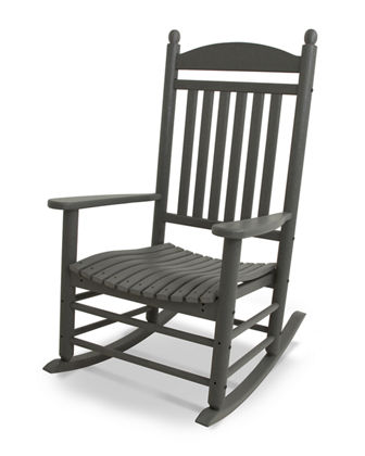 All-Weather Traditional Rocking Chair, Slate Gray