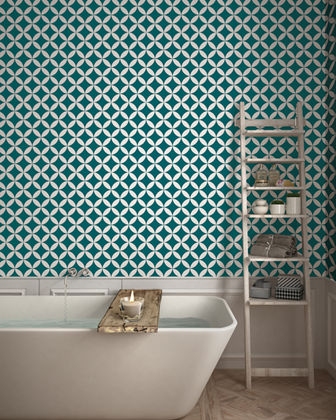 Terrazzo Star Removable Wallpaper