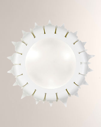 Broche 3-Light Flush-Mount Ceiling Lamp